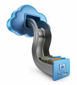 File storage in cloud
