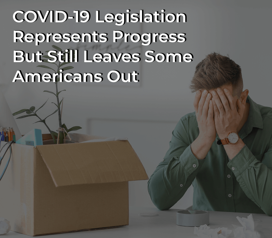 Employee stressed about paid sick leave working from home due to COVID-19