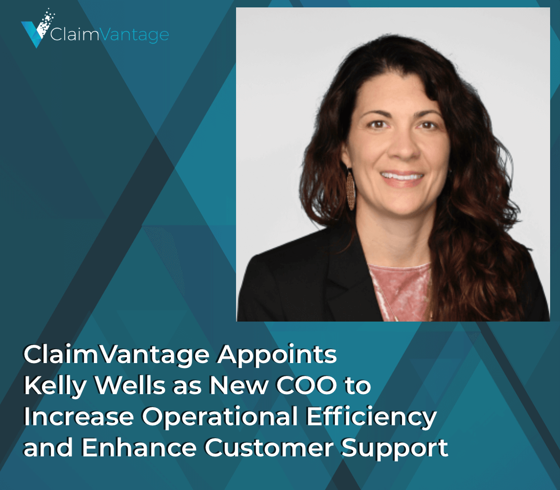 Kelly Well, COO at ClaimVantage