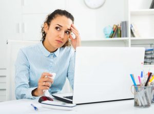 frustrated hr administrator